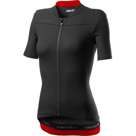 Castelli Anima 3 Koszulka z krótkim rękawem Kobiety, light black/red